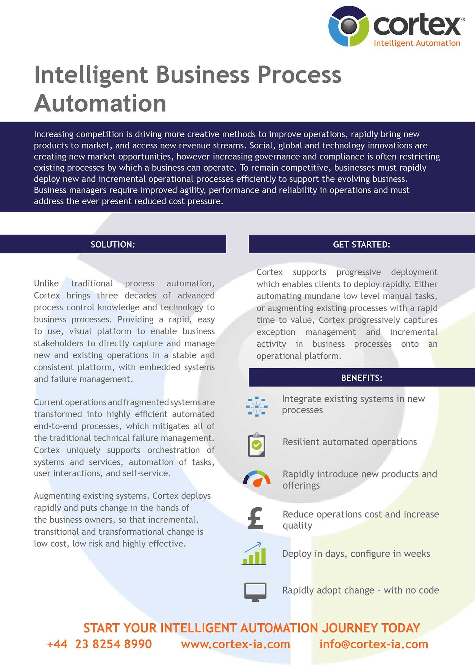 Cortex Business Process Automation